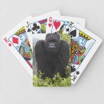 Gorila de montaña y Silverback Baraja De Cartas