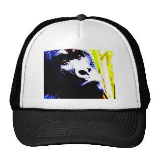 Gorila del arte pop gorras