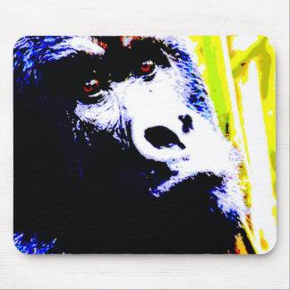 Gorila del arte pop alfombrilla de raton