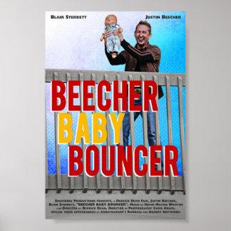 Gorila del bebé de Beecher (cartel de película) Póster