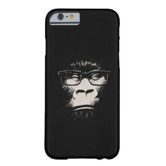 Gorila del inconformista con los vidrios