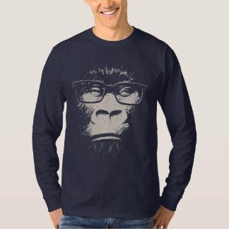 Gorila del inconformista con los vidrios playeras