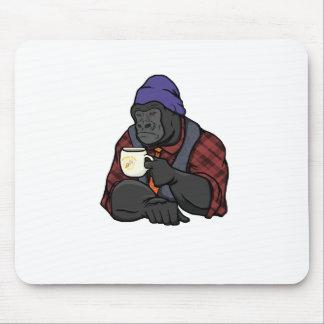 Gorila del inconformista tapetes de ratón