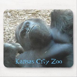 Gorila del parque zoológico de Kansas City Alfombrilla De Ratones