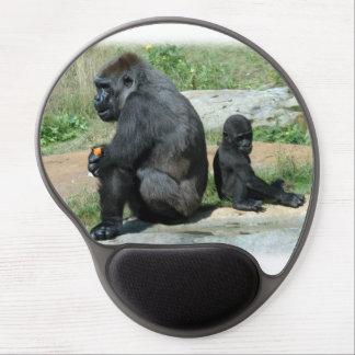 Gorila del Silverback Alfombrilla De Raton Con Gel