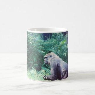 Gorila del Silverback de la taza del gorila