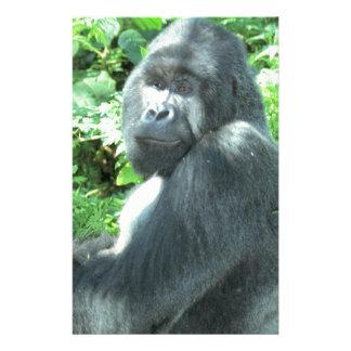 gorila del silverback papelería