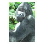gorila del silverback papelería de diseño