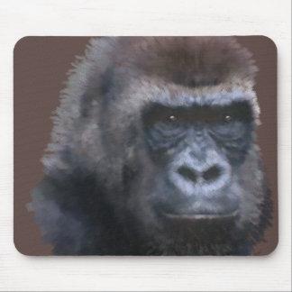 Gorila del Silverback Tapete De Ratón