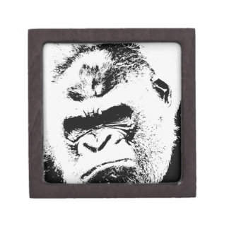 Gorila enojado caja de joyas de calidad