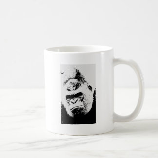 Gorila enojado taza