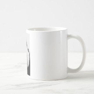 Gorila enojado taza de café