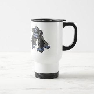 Gorila fresco taza de viaje de acero inoxidable