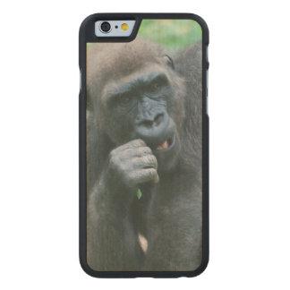 Gorila Funda De iPhone 6 Carved® Slim De Arce