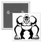 Gorila grande pins