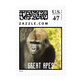Gorila Great Apes postage stamps