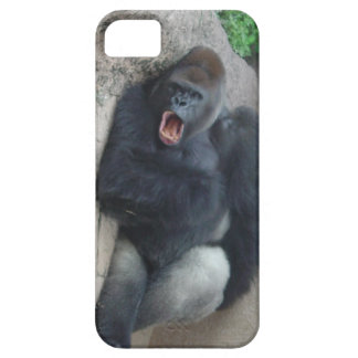 Gorila gruñón iPhone 5 cárcasa