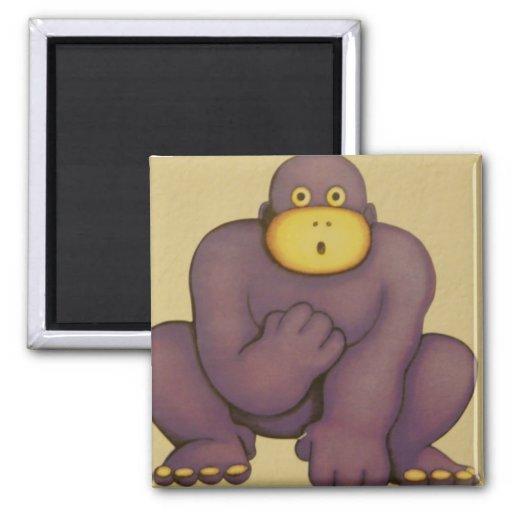 gorila imanes para frigoríficos