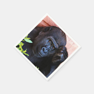 gorila impresionante 1215P Servilletas De Papel