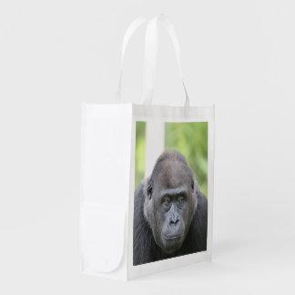 gorila impresionante bolsas para la compra