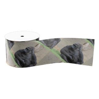 gorila impresionante lazo de tela gruesa
