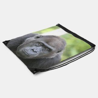 gorila impresionante mochilas