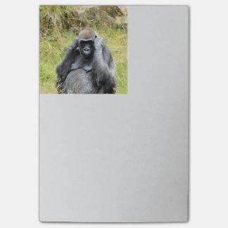 gorila impresionante notas post-it®