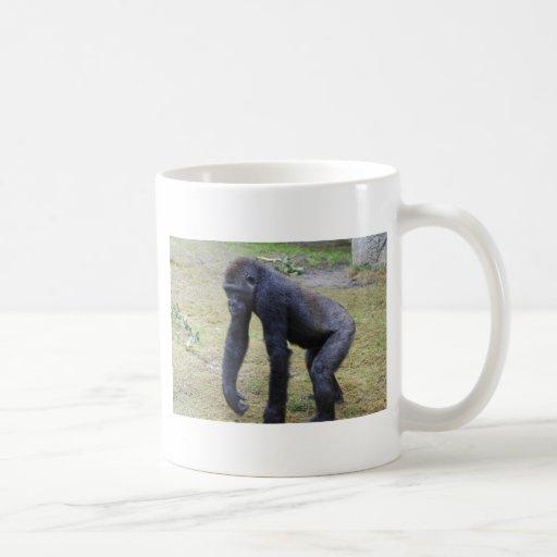 Gorila joven taza