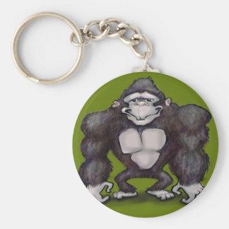 Gorila Llavero Redondo Tipo Pin