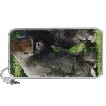 Gorila masculino de la tierra baja del Silverback  Notebook Altavoz