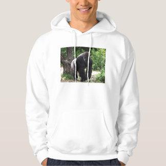Gorila masculino down.jpg principal que camina del suéter con capucha
