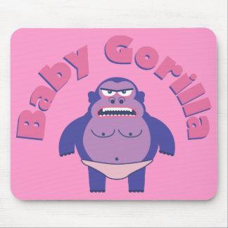 Gorila Mousepad del bebé Alfombrilla De Ratón