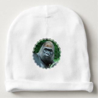 Gorila perplejo gorrito para bebe