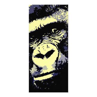 Gorila Plantilla De Lona