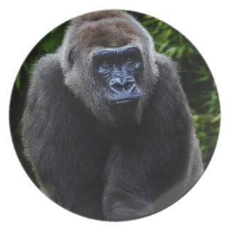 Gorila Plato Para Fiesta