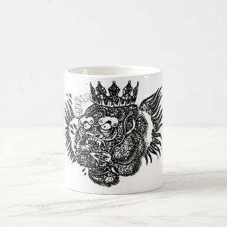 Gorila real taza de café