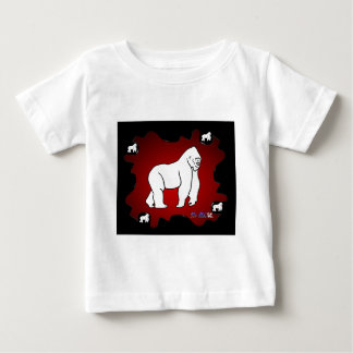 GORILA RED BACKGROUND PRODUCTS SHIRTS