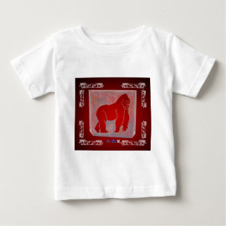 GORILA RED CUSTOMIZABLE PRODUCTS TEE SHIRT