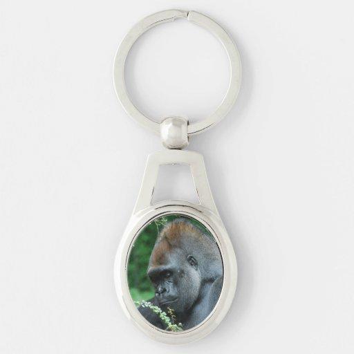 Gorila severo llaveros