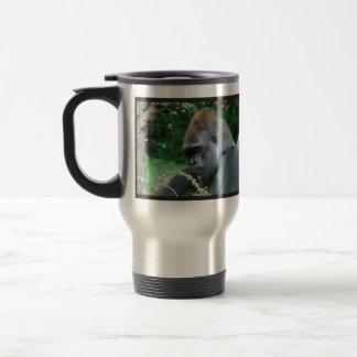 Gorila severo taza de café