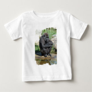 Gorila Sitting Baby T-Shirt