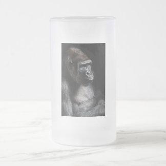Gorila solo taza de cristal