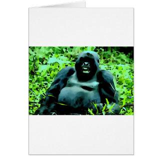 Gorila Tarjeta De Felicitación
