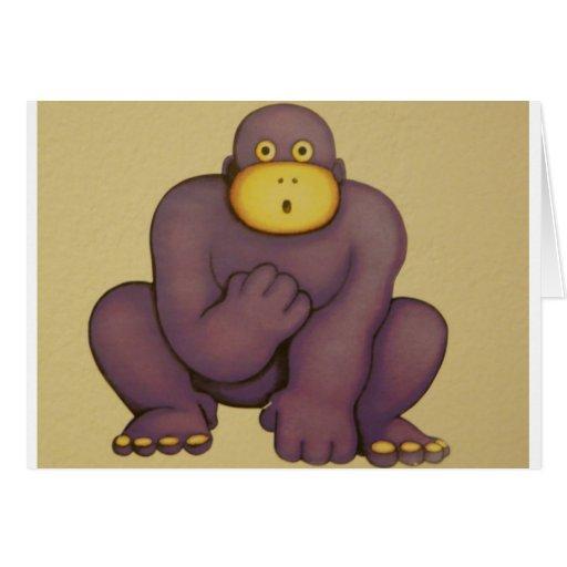 gorila tarjetón