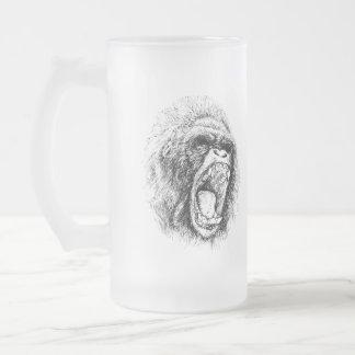 Gorila Taza De Cristal