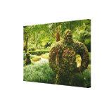 Gorila vegetal impresión de lienzo