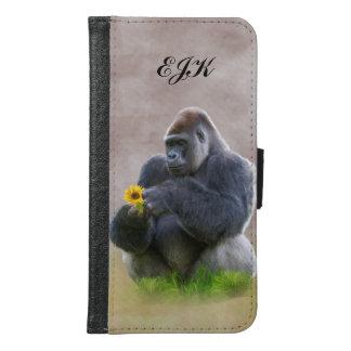 Gorila y margarita amarilla, monograma