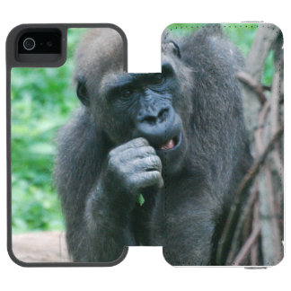 Gorila Funda Cartera Para iPhone 5 Watson