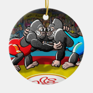 Gorilas de lucha ornatos