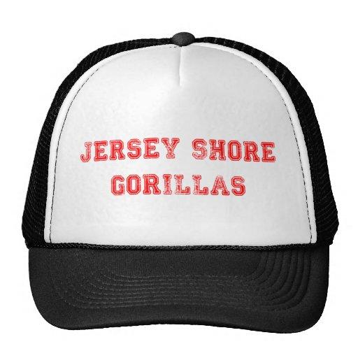 Gorilas del jersey gorras